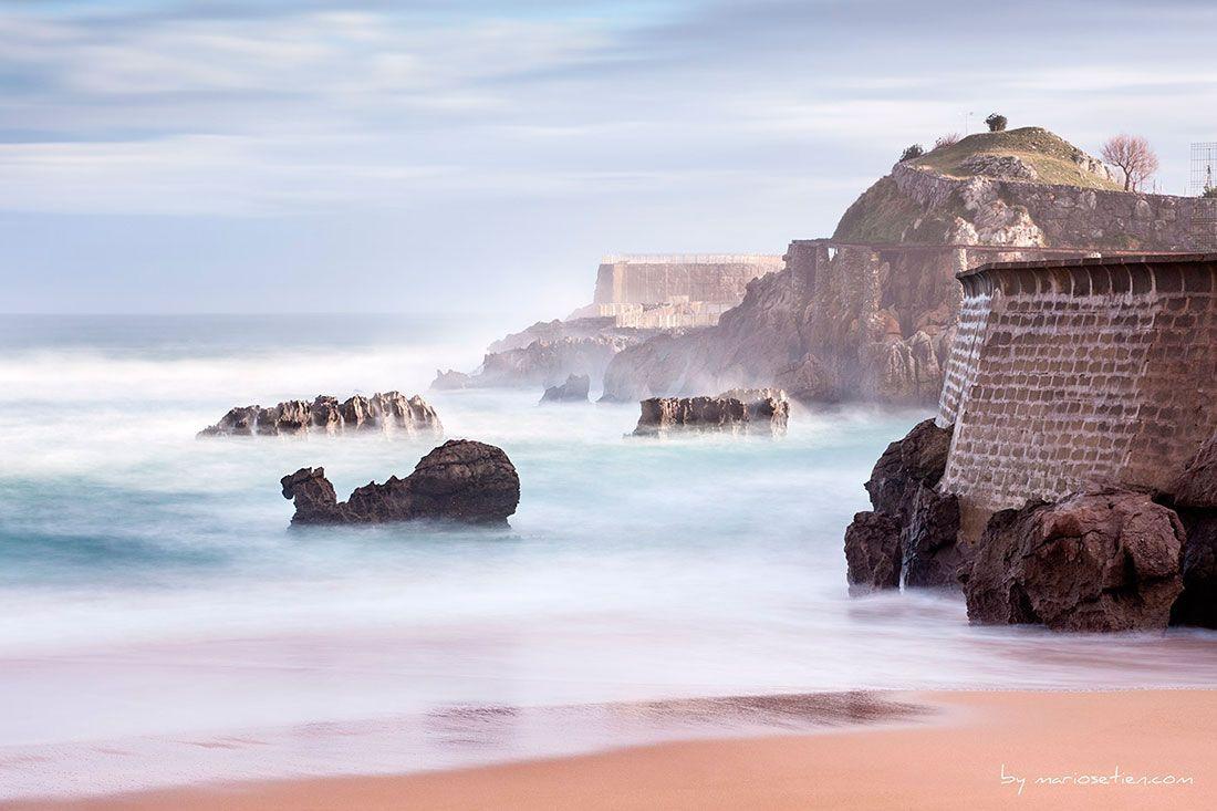 Santander en Movimiento Video Timelapse Playa del Camello Cantabria
