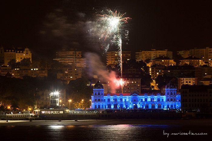 Fuegos Gran Casino Sardinero Santander Cantabria Fotografo Mario Setien