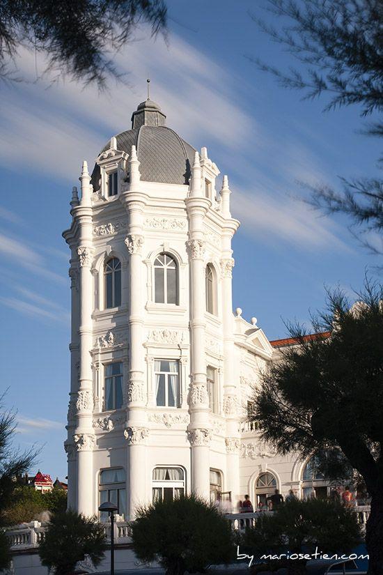 Torre Gran Casino Sardinero Santander Cantabria Fotografo Mario Setien