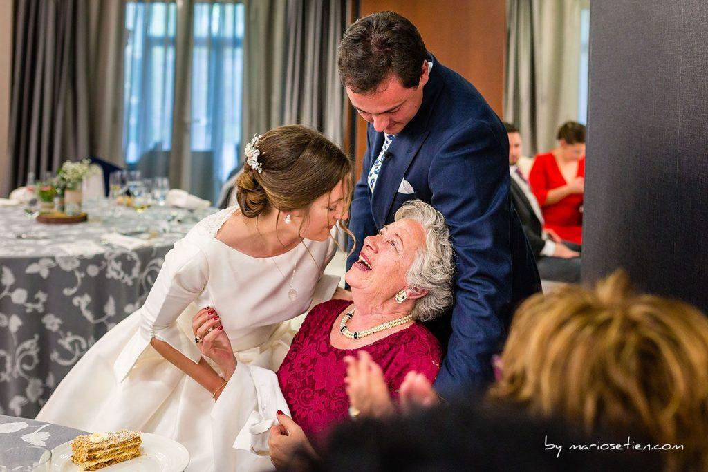 momentos importantes de la boda BANQUETE GRUPO Fotografo Boda Fotografos Bodas Santander Cantabria Castilla Termal Balneario De Solares