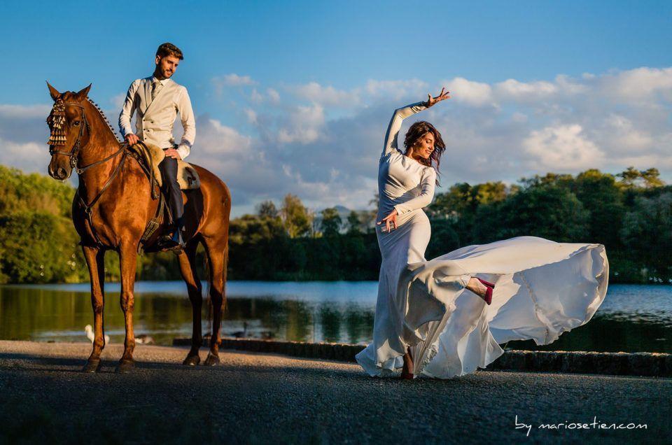 Fotografía documental, dirigida y posada en bodas