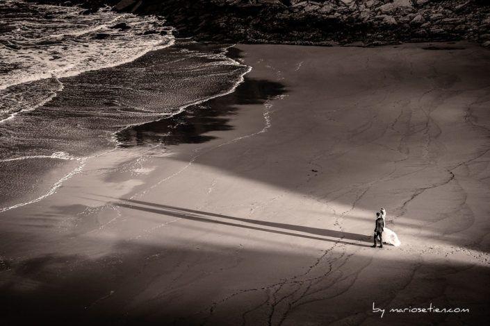 POSTBODA Fotografo Boda Fotografos Bodas Santander Cantabria playa Arnia