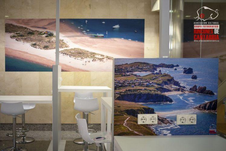 Foto vinilo Aeropuerto Aena Seve-Ballesteros Decoracion Puntal-Costa Quebrada fotografo Mario Setien