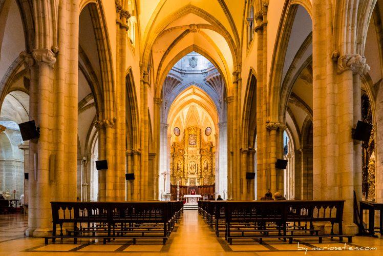 Iglesia Catedral Santander Cantabria boda matrimonio Fotografo Mario Setien