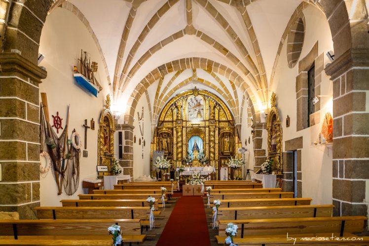 Iglesia Ermita De La Virgen Del Mar Cantabria boda matrimonio Fotografo Mario Setien