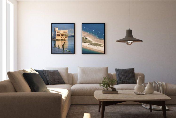 Foto Decoracion Playa Puntal Raqueros Santander cuadro marco fotografo Mario Setien