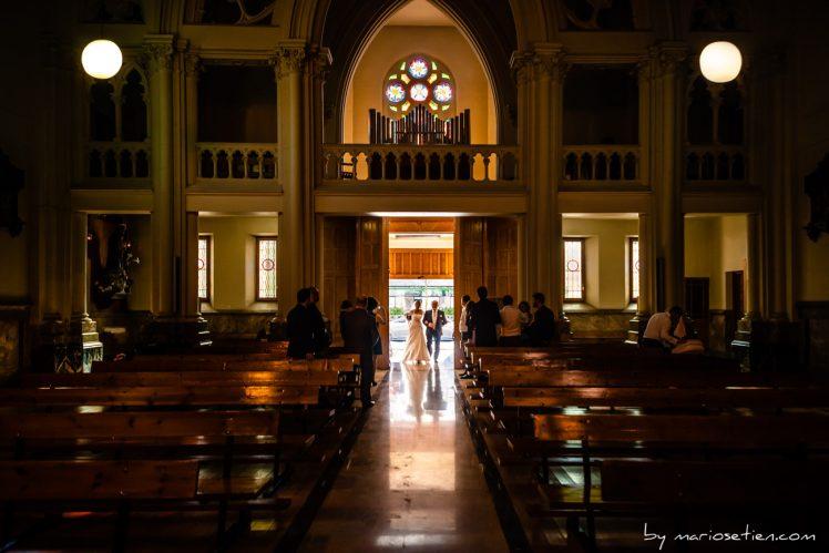 Boda en la Parroquia de la Inmaculada de Santander