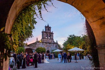Finca de San Juan durante el cóctel en Castañeda