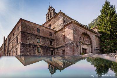 Santuario de Nuestra Señora de las Caldas en las Caldas del Besaya, edificio