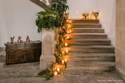 Escaleras de la Casona