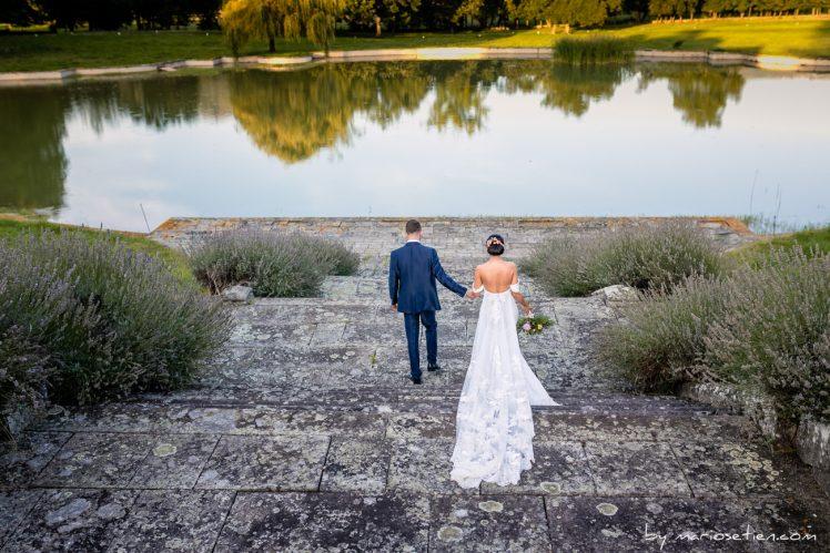 Lago del Palacio de los hornillos y los novios