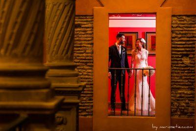 Sesión de fotos en el interior del Palacio