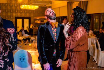 Fiesta una boda en el Palacio