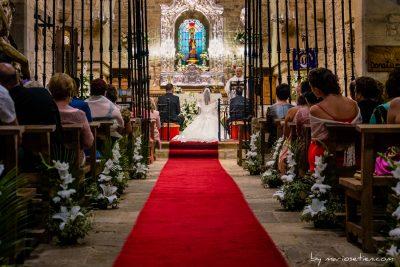 Ermita de Valvanuz durante una boda