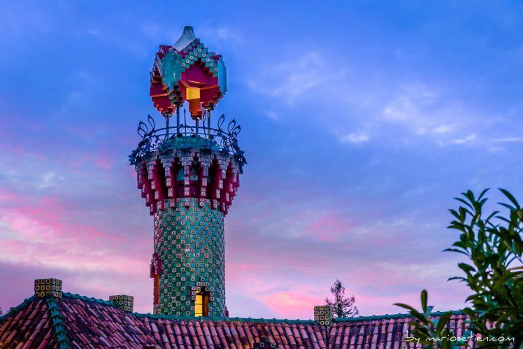 Torre del Capricho de Gaudí en Comillas para bodas