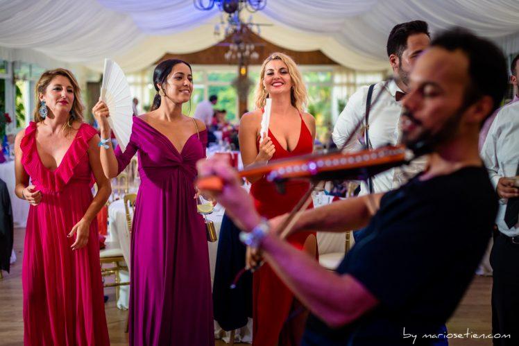 Espectáculo en Rovallines con violín