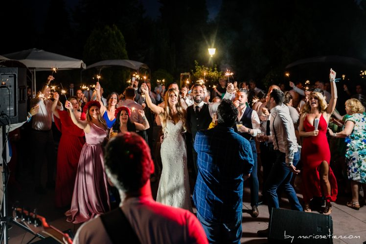 Música en directo en una boda