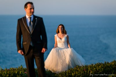 Sesión de fotos de boda en El Torco