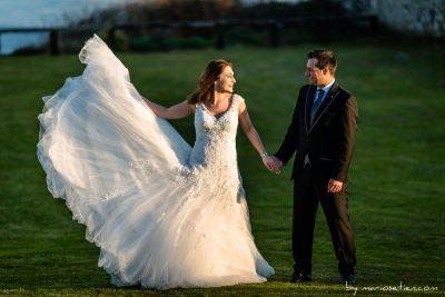 reportaje de bodas en El Torco en Suances