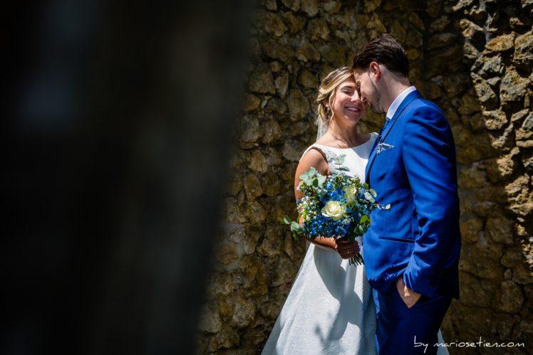 Reportaje fotográfico de bodas en los Jardines de Viares