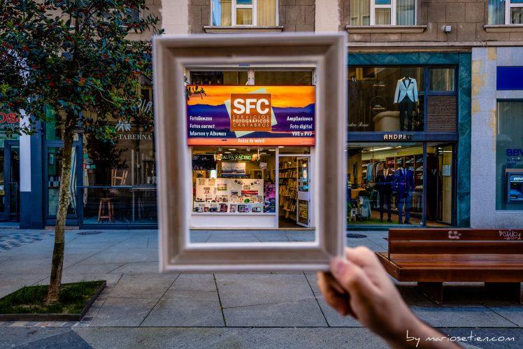 Tienda de Santander, fotos del negocio
